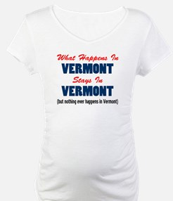 What Happens In Vermont Shirt