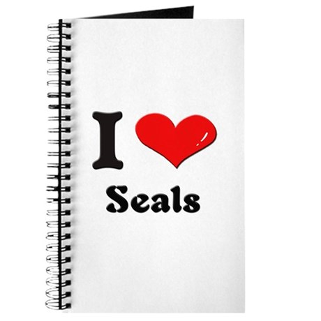 I love seals Journal