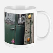 Farm Truck with Flowers Mugs