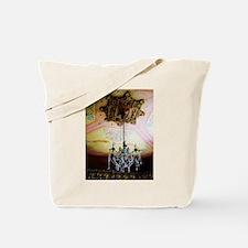 Castle Chandelier Tote Bag