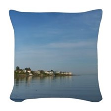Sea to Sky Woven Throw Pillow
