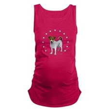 Jack Russell Star Maternity Tank Top