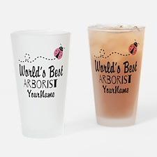 World's Best Arborist Drinking Glass