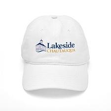 Lakeside Pavilion in Color  Baseball Cap