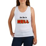 See You in HELL Women's Tank Top