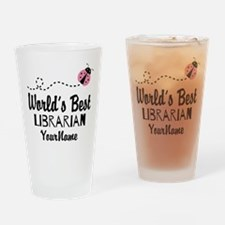 World's Best Librarian Drinking Glass