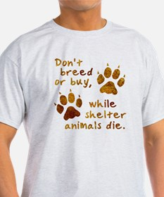 2-shelter animals tote T-Shirt