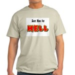 See You in HELL Ash Grey T-Shirt