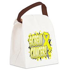 Screw Testicular Cancer Canvas Lunch Bag