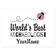 World's Best Archaeologist 5x7 Flat Cards