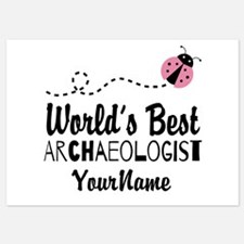 World's Best Archaeologist 5x7 Flat Cards