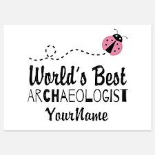 World's Best Archaeologist Invitations