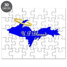 U.P. Blessed w/Halo Puzzle