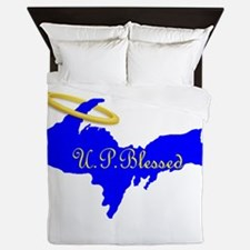 U.P. Blessed w/Halo Queen Duvet