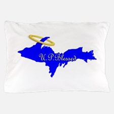 U.P. Blessed w/Halo Pillow Case