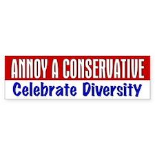 AAC Celebrate Diversity Bumper Bumper Sticker