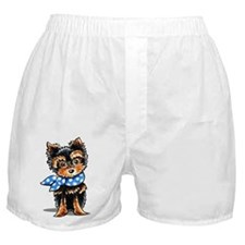 Baby Blue Yorkie Boxer Shorts