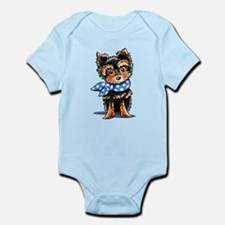 Baby Blue Yorkie Body Suit