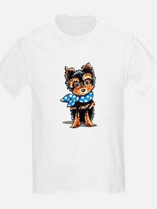 Baby Blue Yorkie T-Shirt
