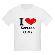 I love screech owls T-Shirt