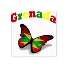 Butterfly Grenada Sticker