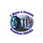 I HAVE A DREAM, PRESIDENT OBAMA Postcards (Package