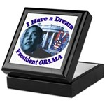 I HAVE A DREAM, PRESIDENT OBAMA Keepsake Box