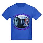 I HAVE A DREAM, PRESIDENT OBAMA Kids Dark T-Shirt