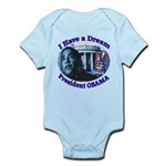 I HAVE A DREAM, PRESIDENT OBAMA Infant Bodysuit