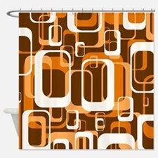 Retro Shower Curtains | Retro Fabric Shower Curtain Liner