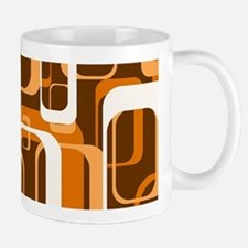 retro pattern 1971 orange Mugs