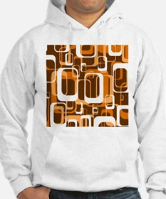 retro pattern 1971 orange Hoodie