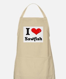 I love sawfish  BBQ Apron