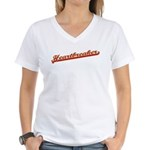 Heartbreaker Women's V-Neck T-Shirt
