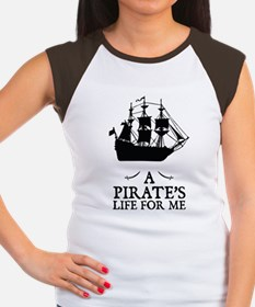 A Pirate's Life For Me Women's Cap Sleeve T-Shirt