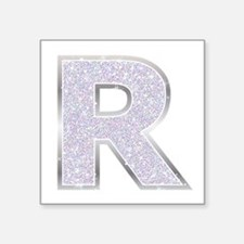 Sparkle Letter R Sticker