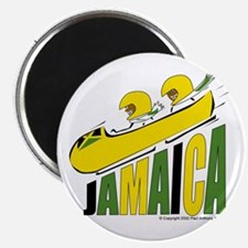 Jamaica Bobsled Magnet