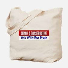 AAC Vote With Your Brain Tote Bag