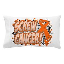 Screw Leukemia Pillow Case