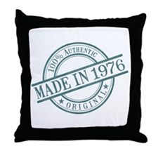 Made in 1976 Throw Pillow