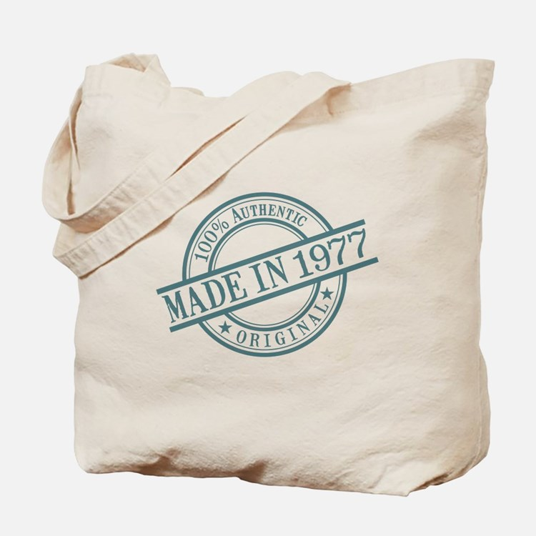 Made in 1977 Tote Bag