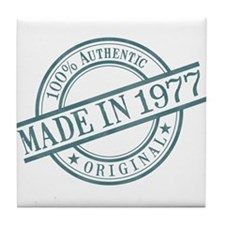 Made in 1977 Tile Coaster