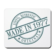 Made in 1977 Mousepad