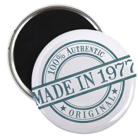 Made in 1977 Magnet