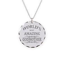 World's Most Amazing Godmoth Necklace Circle Charm