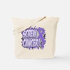 Screw Hodgkins Lymphoma Tote Bag