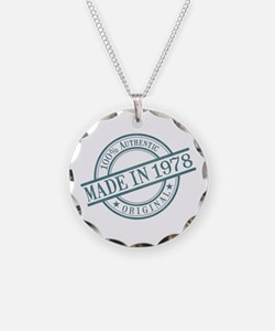 Made in 1978 Necklace