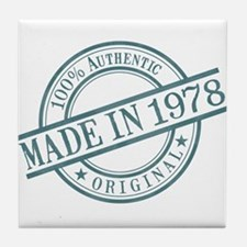 Made in 1978 Tile Coaster