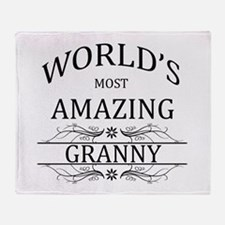 World's Most Amazing Granny Throw Blanket