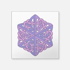 "Celtic Knot 1d Square Sticker 3"" x 3"""